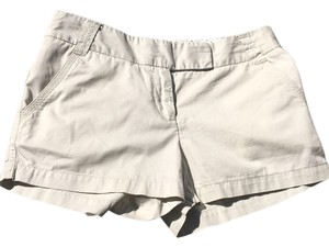 J.Crew Khaki Chino Tan 4 Mini/Short Shorts