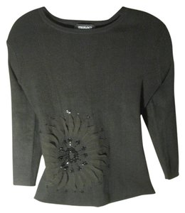 Ideology Beaded Flower Sweater