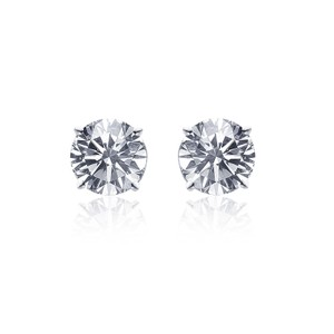 Avital & Co Jewelry 0.47 Carat Diamond Stud Earrings 14k White Gold