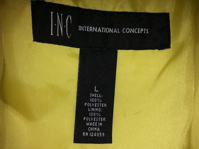 INC International Concepts Trench Lined Yellow Jacket