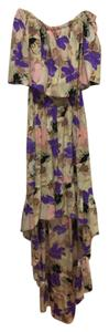 Purple Multi Maxi Dress by Parker