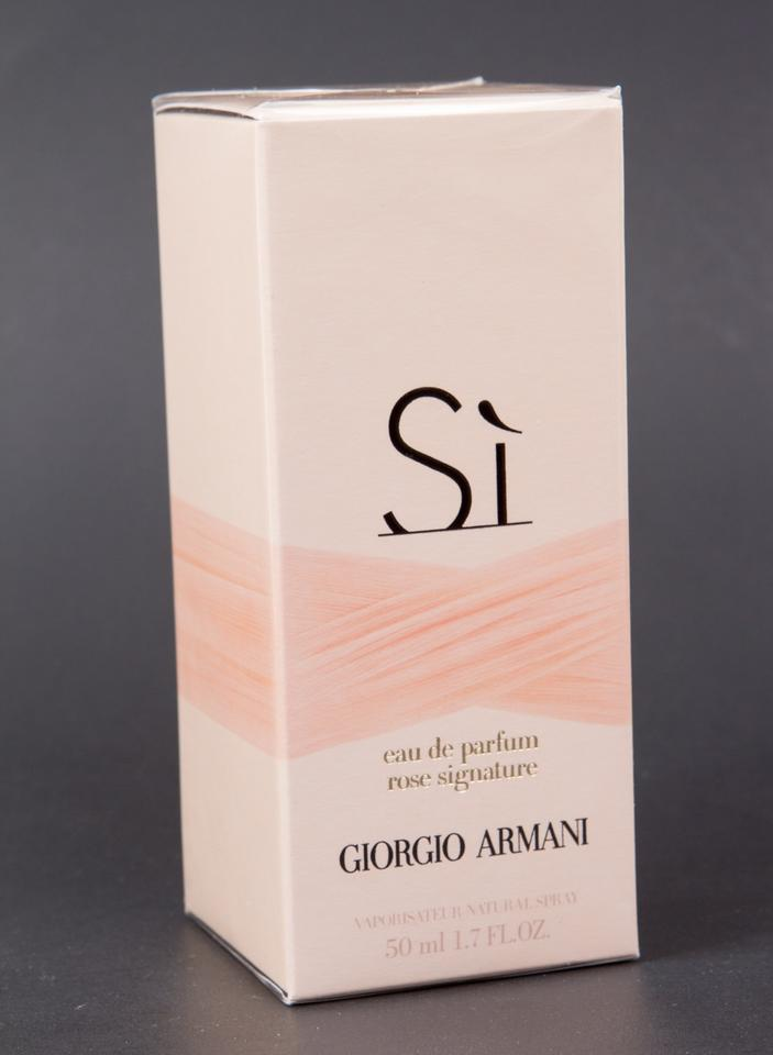 61752fcb47 Giorgio Armani Si Rose Signature Eau De Parfum Spray 1.7oz/50ml New  *discontinued* Fragrance