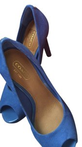 Coach Bright Chambray, blue Pumps