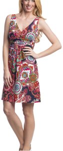 Jude Connally short dress Multicolor: navy, orange, pink, turquoise, white, green Summer New With Tags on Tradesy