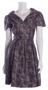 Prada short dress Gray Tone Camouflage on Tradesy