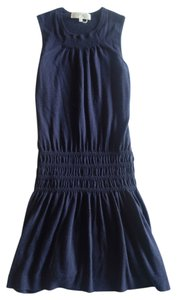 Vanessa Bruno short dress navy Knit on Tradesy
