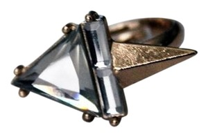 Other Spike Crystal Gold Adjustable Ring