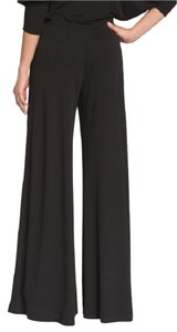 St. John Palazzo Wide Leg Couture Wide Leg Pants Black Cavier