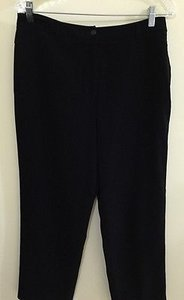 Talbots Capri/Cropped Pants Black