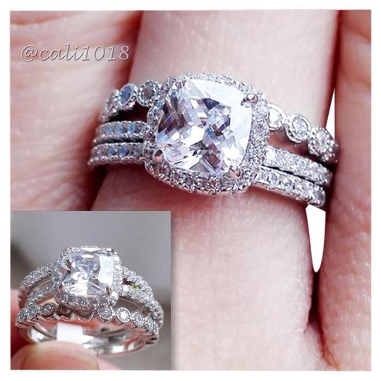 Preload https://img-static.tradesy.com/item/14491270/925-sterling-silver-3pc-aaa-cz-and-white-topaz-wedding-set-7-ring-0-1-540-540.jpg