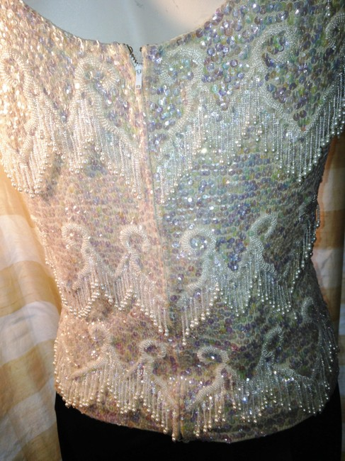 Other Vintage Sleeveless Embellished Hand Made Sweater Image 2