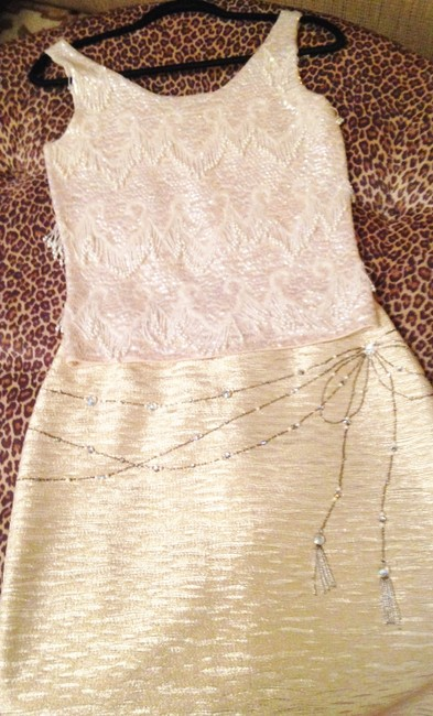 Other Vintage Sleeveless Embellished Hand Made Sweater Image 7
