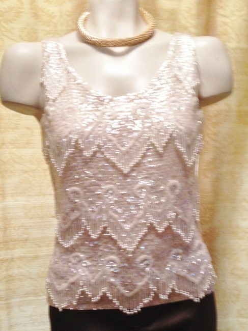 Other Vintage Sleeveless Embellished Hand Made Sweater Image 8