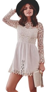 SAYLOR short dress White on Tradesy
