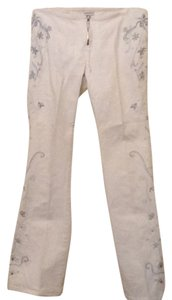 Z. Cavaricci Straight Pants White