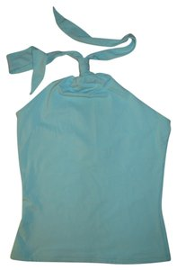 Express turquoise Halter Top
