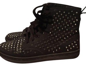 Dr. Martens Studded Drmarten Hightops Black Athletic