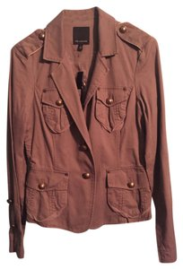 The Limited Miltary Khaki Gold Olive Green Jacket
