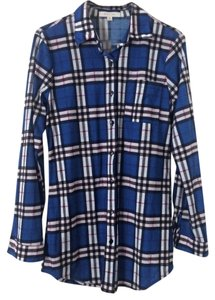 Eden & Olivia Button Down Shirt Blue