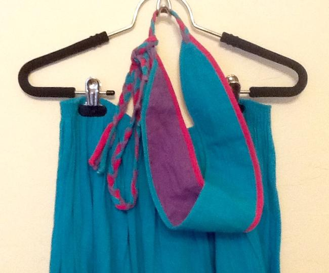 De Weese Design Skirt Turquoise Image 1