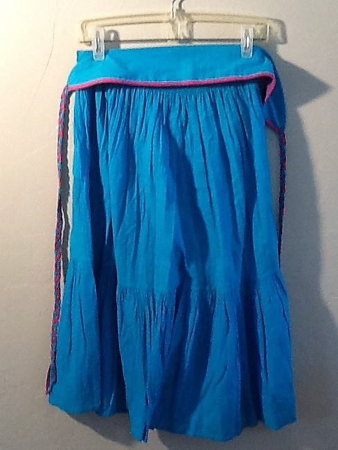 De Weese Design Skirt Turquoise Image 4