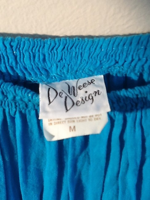 De Weese Design Skirt Turquoise Image 7