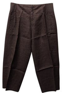 Moda International Victoria's Secret Lounge Capris Brown Linen