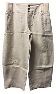 Moda International Victoria's Secret Lounge Capris Cream Linen