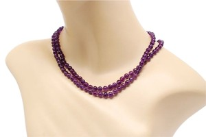 Barry Kieselstein-Cord Barry Kieselstein-Cord High Quality AMETHYST Beaded Double Strand Necklace - 19