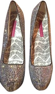 Bordello Rhinestone Pumps