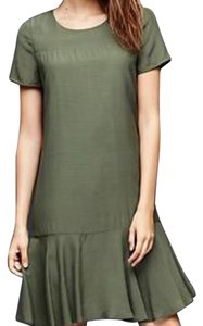 Gap short dress Olive on Tradesy