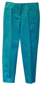 Halogen Nordstrom Straight Pants Turquoise/light blue