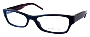 Burberry Black and Tortoise Burberry Eyeglasses