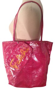 Fatto a mano by Carlos Falchi Cosmetic Tote in Pink irredescent