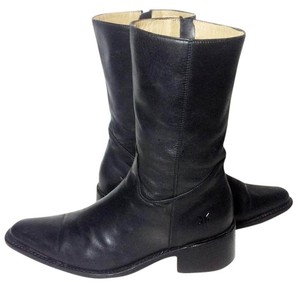Frye 77040 Cowgirl 8 Black Boots