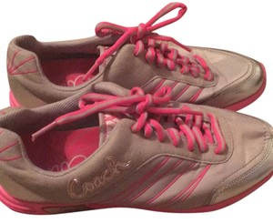 Coach Silver/pink Athletic