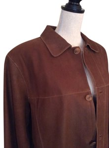Daniel Cremieux Brown Leather Jacket