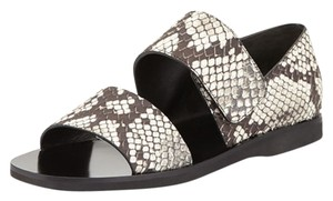 Vince Snake And Black/White Sandals