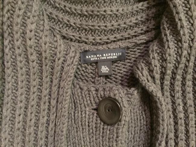 Banana Republic Cape Sweater Merino Wool Coat