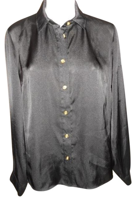 Preload https://item2.tradesy.com/images/michael-kors-black-blouse-size-12-l-1449956-0-0.jpg?width=400&height=650