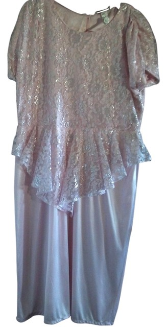 Preload https://item5.tradesy.com/images/variations-dress-pink-and-silver-1450164-0-0.jpg?width=400&height=650