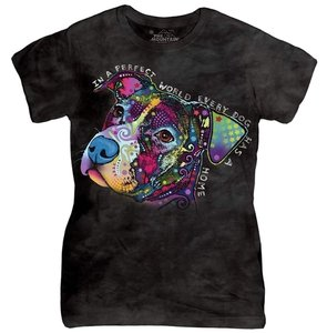 Other Cotton Animal Print Party T Shirt multi-color