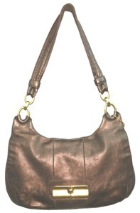 Coach Brown Leather Shoulder Bag