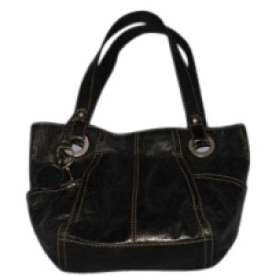 Preload https://item4.tradesy.com/images/fossil-hathaway-glazed-shopper-black-leather-shoulder-bag-145033-0-0.jpg?width=440&height=440