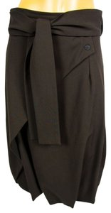 Sarah pacini Lagenlook Maxi Skirt Brown