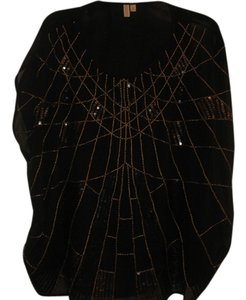 1 Madison Top BLACK WITH SEQUINS