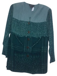Carole Little Top Multi, blue/green