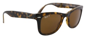 Ray-Ban Ray-Ban RB 4105 Foldable Wayfarer Sunglasses