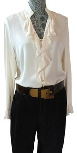 St. John Blouse by Marie Gray Top Ivory