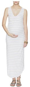 Fillyboo MATERNITY Fillyboo Tank Dress in Silvermoon/White Frenchie Stripe